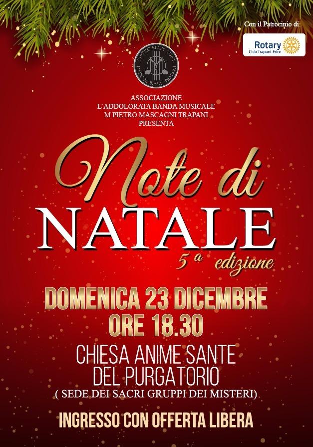Locandina Concerto Natale 23 Dic 18